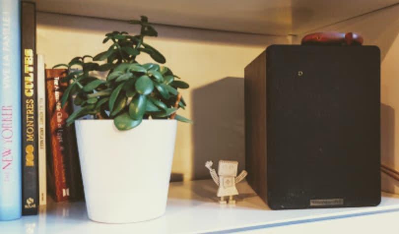 L'enceinte Cambridge Audio S30 - pas beaucoup plus grosse qu'un livre de poche