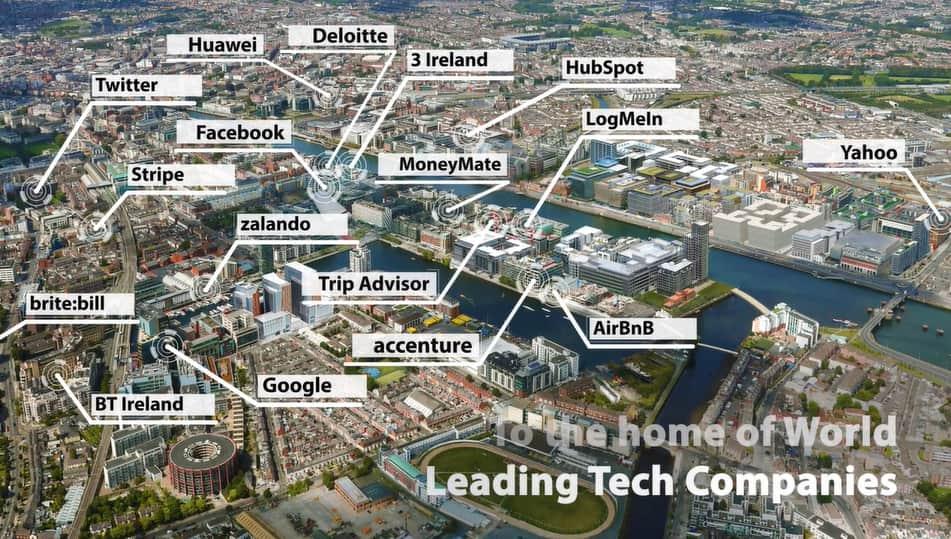 Les Silicon Docks, le quartier numérique de Dublin