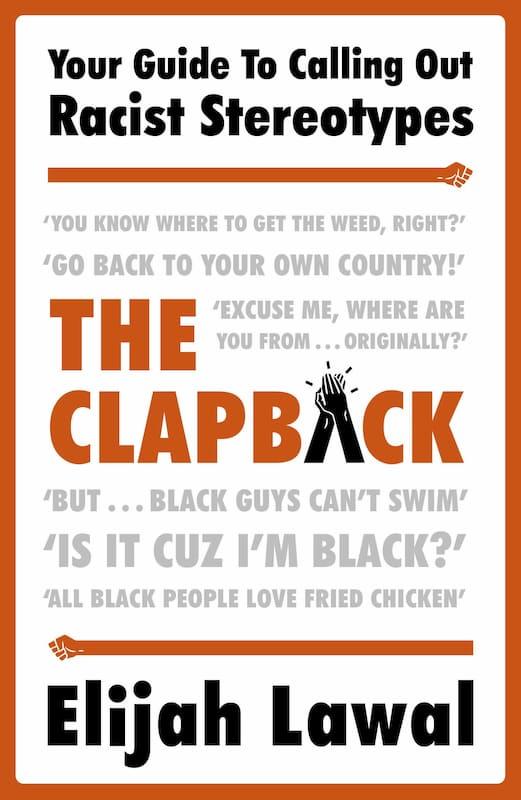 """Couverture du livre """"The Clapback"""" par Elijah Lawal"""