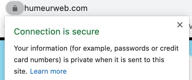 Avoir un site web qui protège la connexion de ses utilisateurs est essentiel !