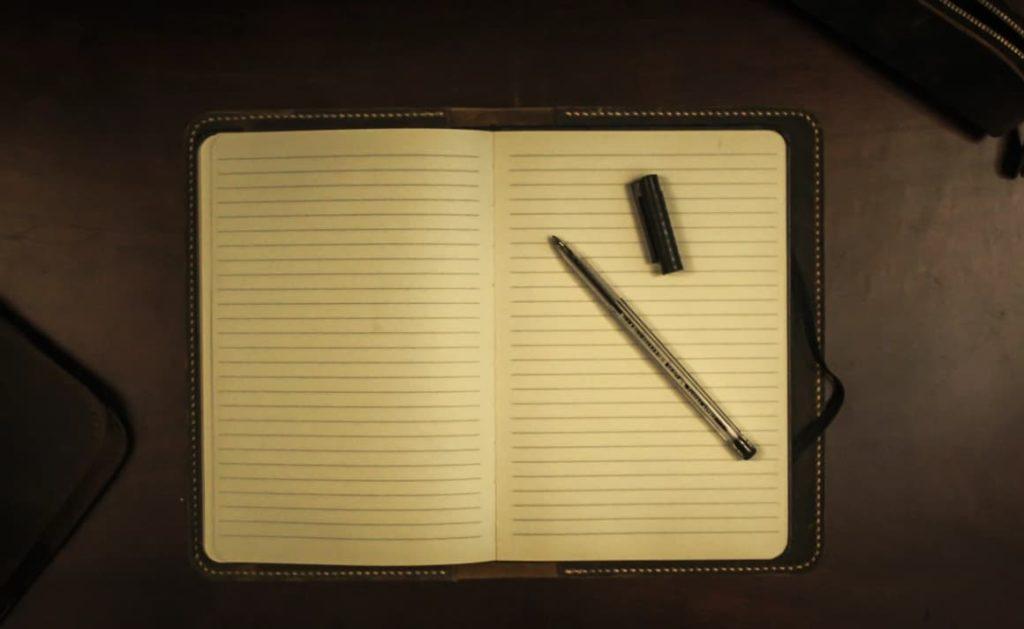 Le syndrome de la page blanche... Ou jaune, dans le cas présent ?