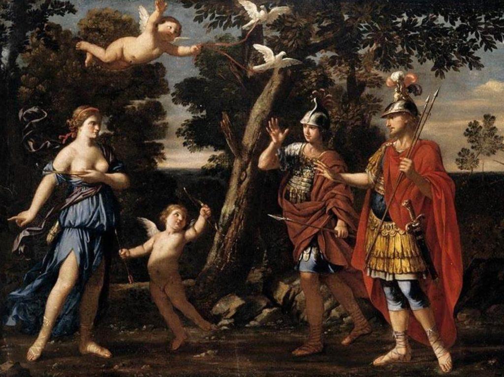 Vénus et Énée - L'Énéide a inspiré de nombreux peintres baroques