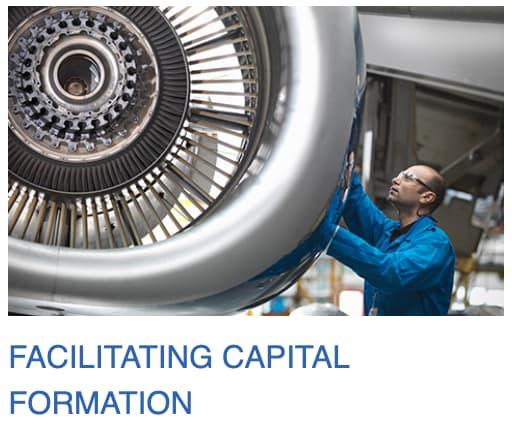 Deuxième mission de la SEC : faciliter la formation du capital