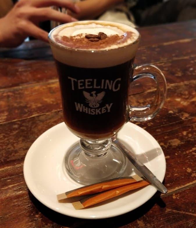 Irish coffee...