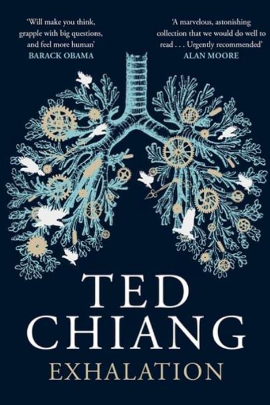 Couverture de Exhalation par Ted Chiang